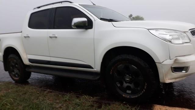 Policial de folga recupera caminhonete roubada em Roncador