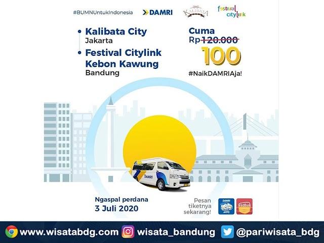 Ini Jadwal dan Tarif Terbaru Bus DAMRI dari Bandung ke Kalibata City Jakarta