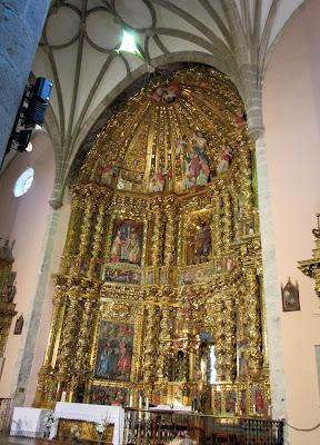 Iglesia de S. Andrés en Anguiano.La Rioja