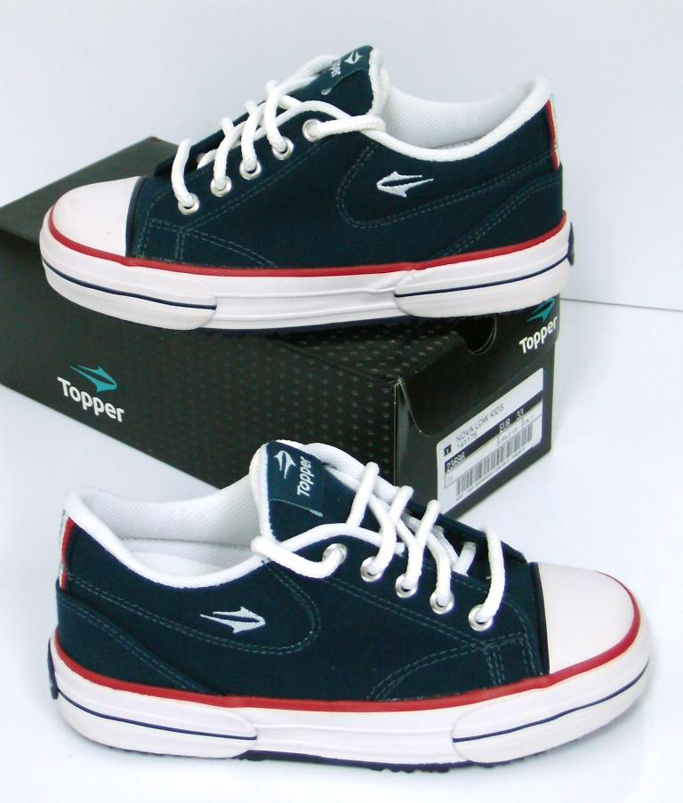 f90c4c238e5 Zapatillas Topper Modelo Nova Low Niños - Color Azul Insignia -. Precio   189.00 pesos.