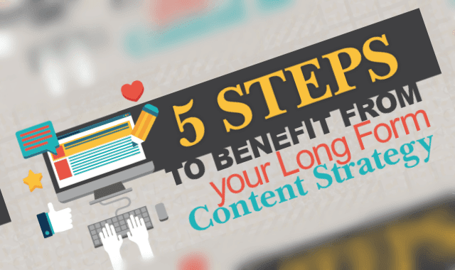 5 Steps To Benefit From Your Long Form Content Strategy