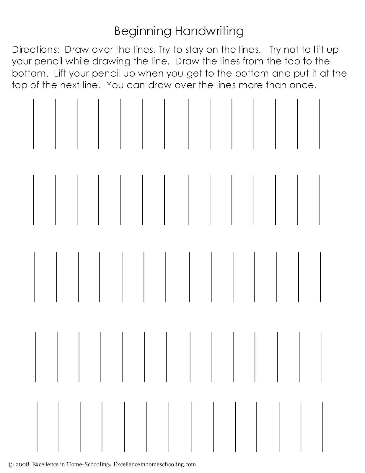 laura 39 s frayed knot beginning handwriting worksheets. Black Bedroom Furniture Sets. Home Design Ideas