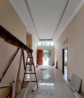 Ruang tamu 2 Cluster Eka Sari Medan Johor