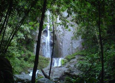Kesejukan Air Terjun Dolo di Lereng Gunung Willis