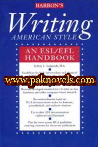 Barron's Writing American Style - An ESL/EFL Handbook