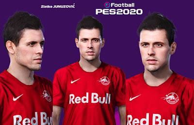 PES 2020 Faces Zlatko Junuzović by Milwalt