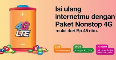 Pilihan Paket Internet Tri yang Super Murah Meriah, Ramah Dikantong Pelajar