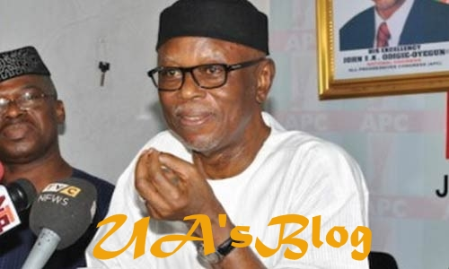 "Oyegun reveals how Oshiomhole is killing APC with his ""agbero style"""