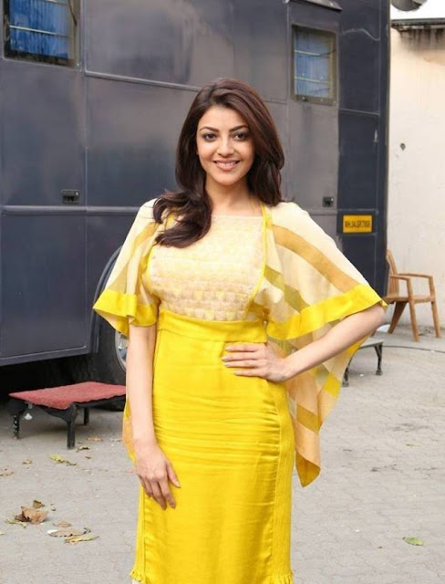Actress Kajal Agarwal Latest Pics Looking Cute Actress Trend