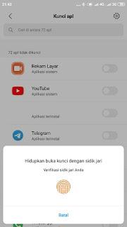 cara sembunyikan aplikasi dari layar utama di xiaomi