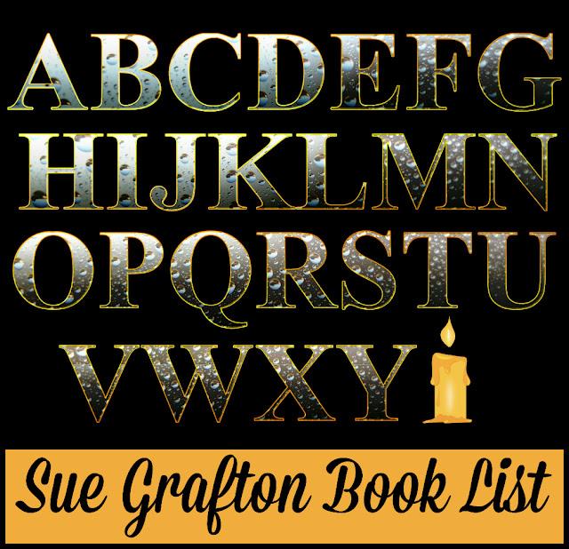 Sue Grafton Book List