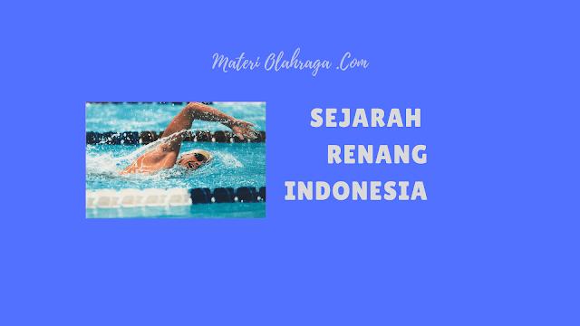Sejarah Singkat Renang di Indonesia dan Perkembangannya