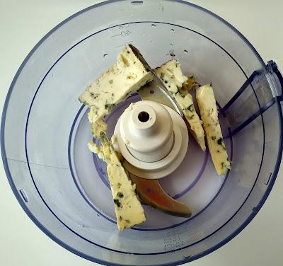 Sandwich de rucula y queso azul la cocinera novata receta cocina sandwich bocadillo queso express queso crema untar philadelphia rodilla pate dip untable cena