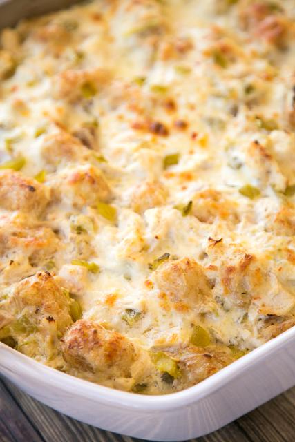 recipe: salsa verde chicken casserole [19]