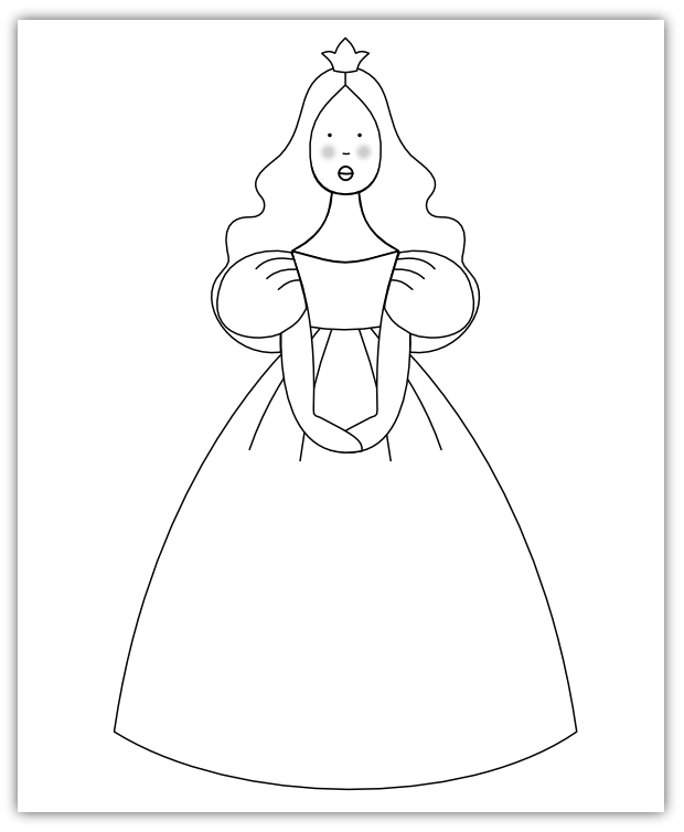 Imaginesque Princess Pattern Ready To Party