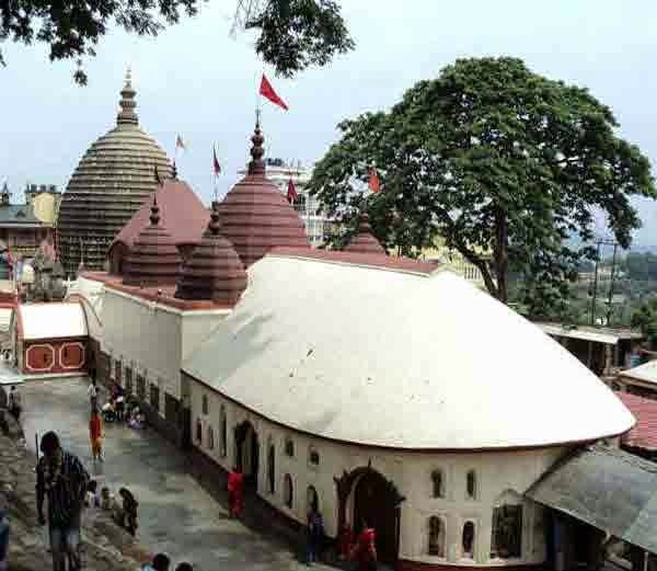 4. कामाख्या देवी मंदिर, गुवाहाटी (Kamakhya Devi temple, Guwahati)