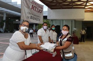 Labor de los Servidores de la Nación contribuye a la paz social en Acapulco: Adela Román