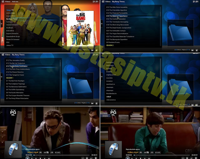 Add-on - Big Bang Theory - KODI