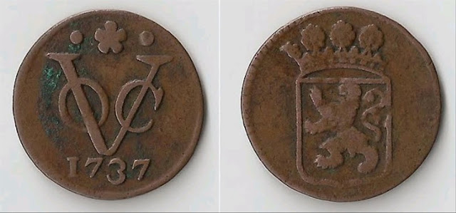 Koin dari masa penjajahan VOC