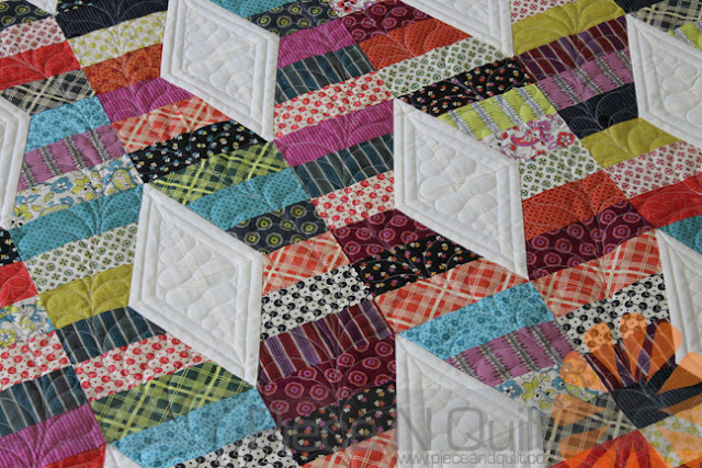 Piece N Quilt Hugs Kisses Quilt Custom Machine Quilting By