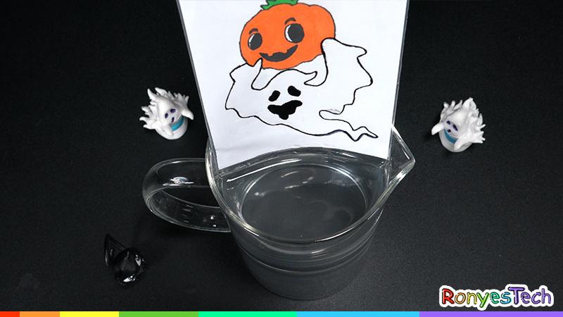 Zip Lock Bag Water Refraction - Halloween Activity