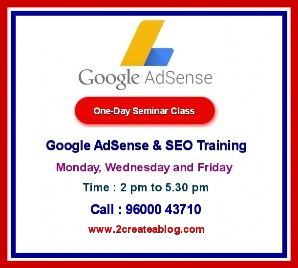 Google AdSense Training