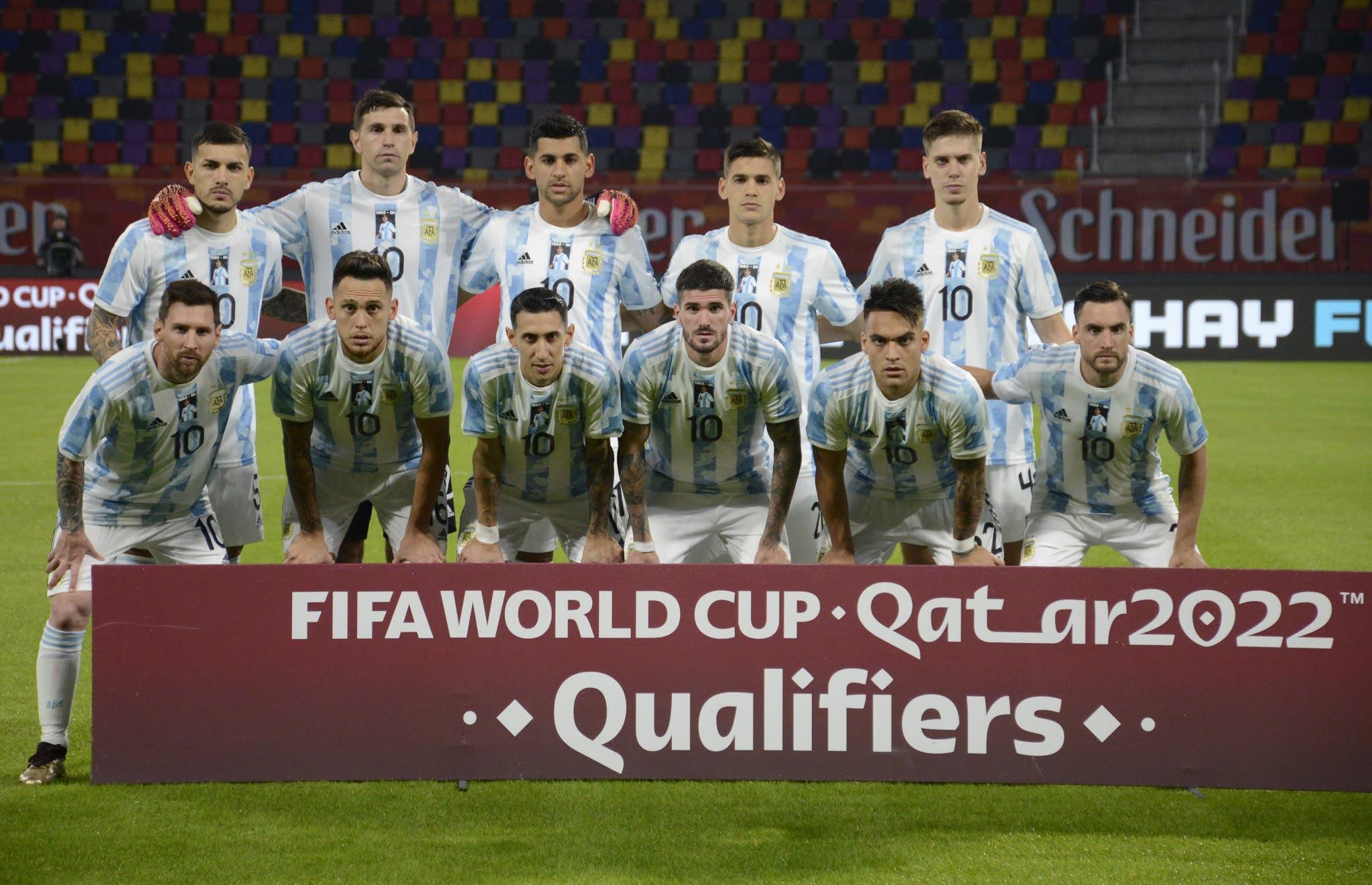 Formación de Argentina ante Chile, Clasificatorias Catar 2022, 03 de junio de 2021