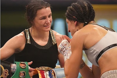 Katie Taylor vs Miriam Gutierrez