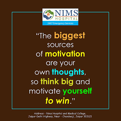 Morning Motivational Quotes - Think Big | Nims Hospital