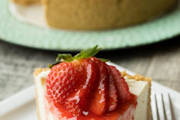 Easiest Strawberry Cheesecake Recipes Only 4 Ingridient