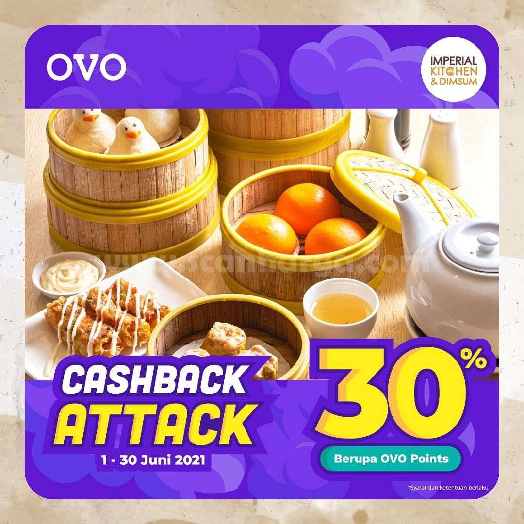 Promo Imperial Kitchen OVO Cashback Attack 30%