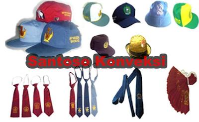 Harga Topi Dasi SeragamSekolah SD, SMP dan SMA