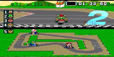 Super Mario Kart - Captura 3