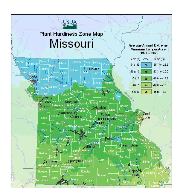 Easy Frugal Living: The 2012 USDA Plant Hardiness Zone Map