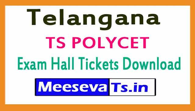 TS POLYCET Exam Hall Tickets Download