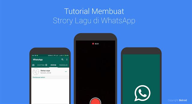 Tanpa Aplikasi 2 Cara Membuat Status Lagu Di Whatsapp