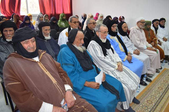 لقاء تواصلي لأسرة المقاومة وجيش التحرير بالطنطان حول التغطية الصحية لفائدة قدماء المقاومين