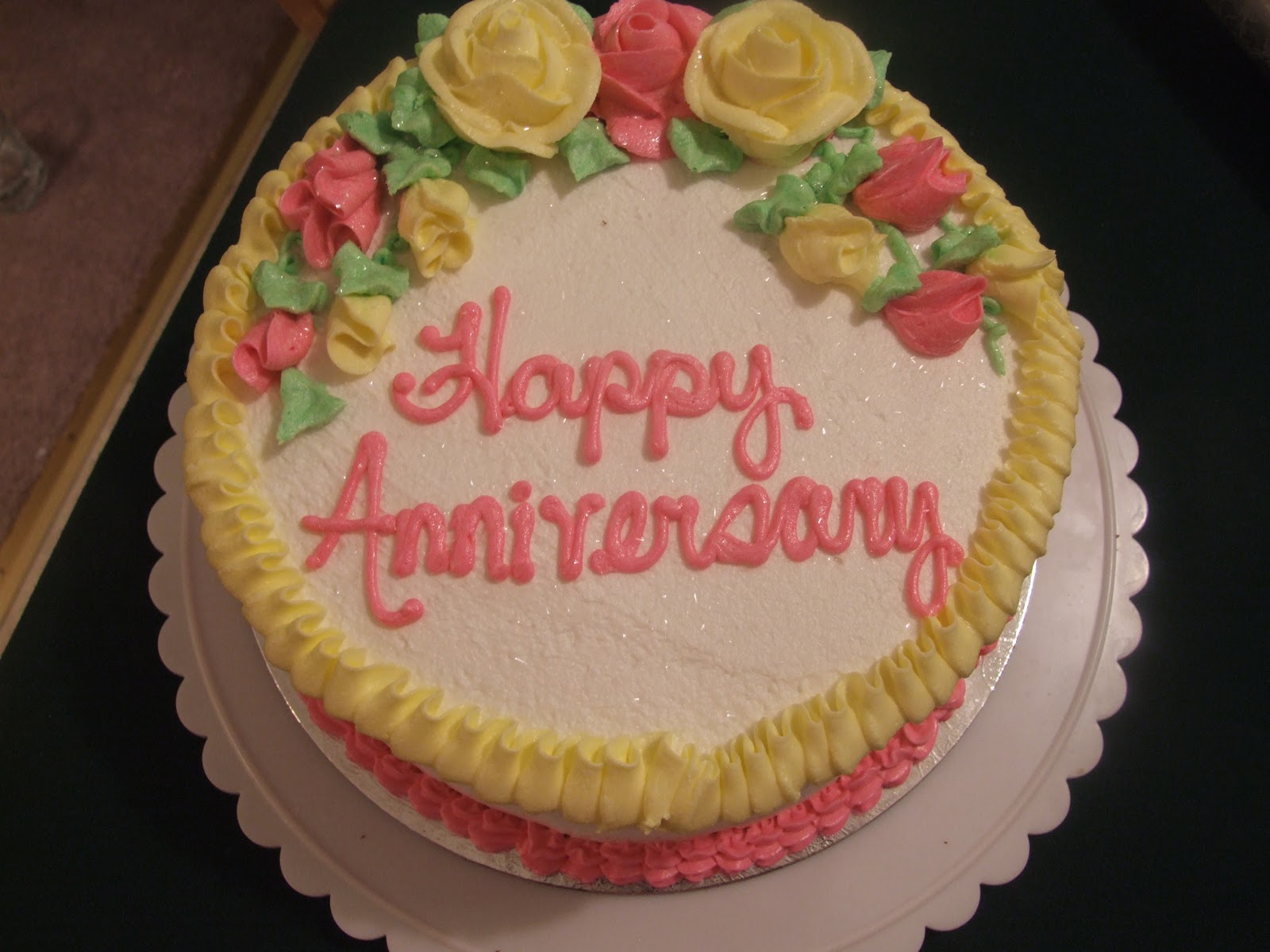 Happy Marriage Anniversary Cake Mom And Dad