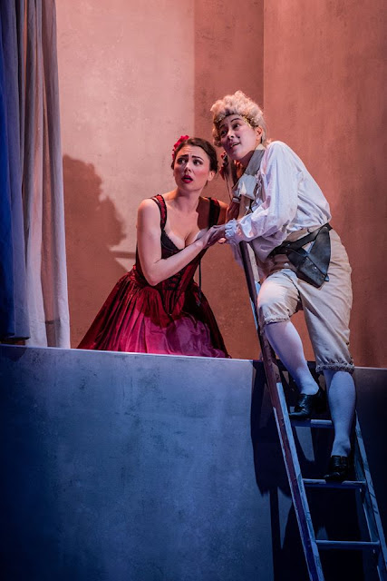 Massenet: Chérubin - Hazel Neighbour, Yuki Akimoto - Royal Academy Opera (Photo Robert Workman)