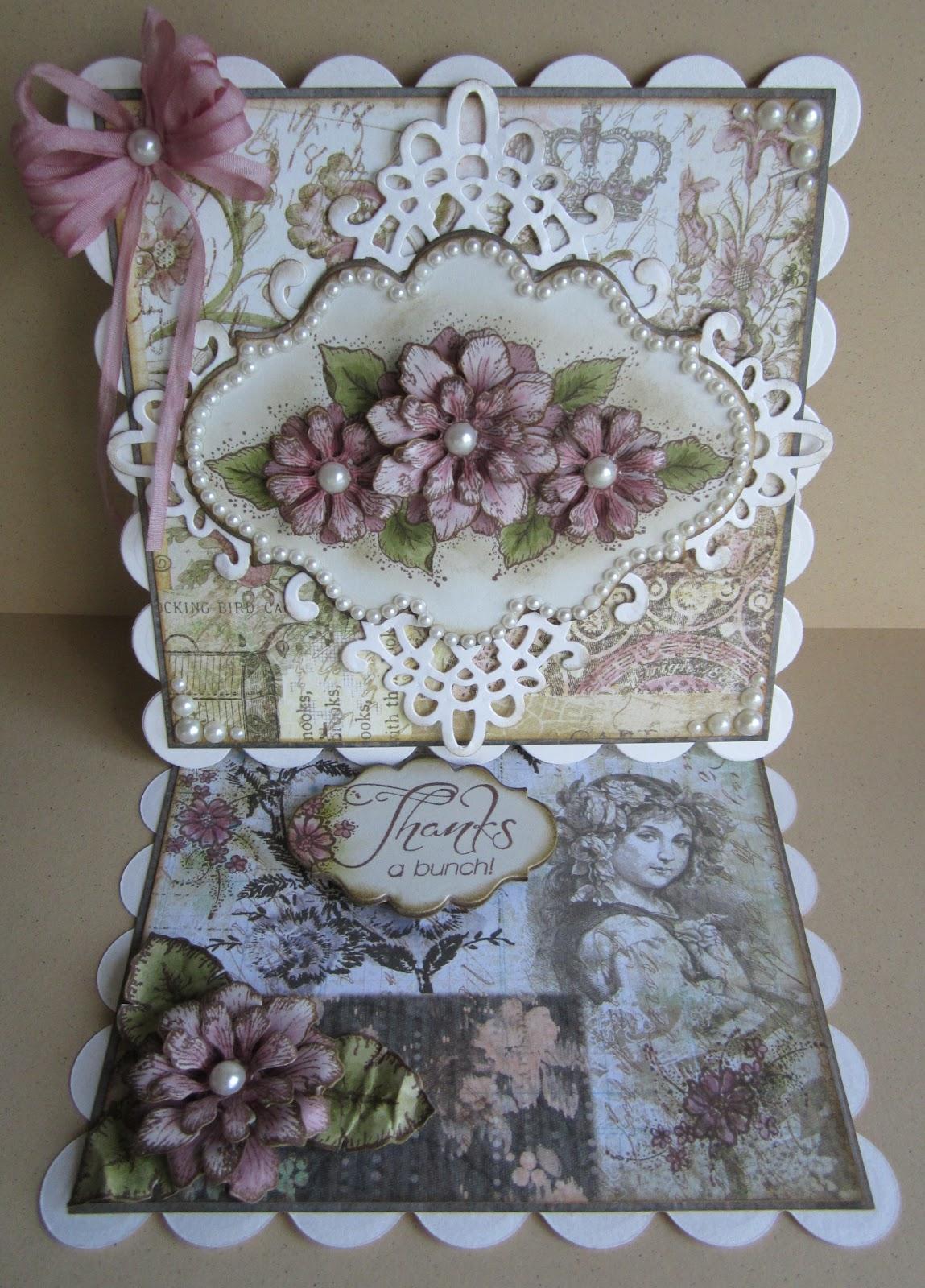 Designs by Marisa: Heartfelt Creations Thanks a Bunch