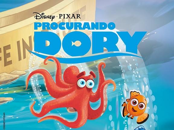 Lançamento de junho: Pixel / Coquetel - Disney, Procurando Dory, HQ oficial