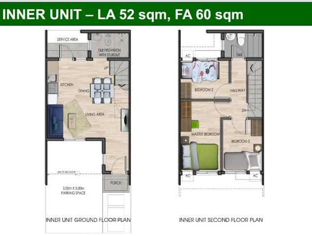 Amaia Townhouse Within Vermosa Community In Imus Cavite
