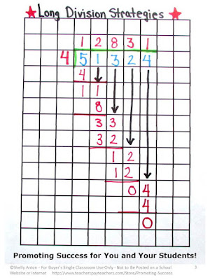 graph paper for math accommodations
