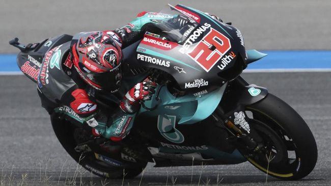 Hasil FP2 MotoGP Jepang Tercepat Yaitu Quartararo Dan Rossi Lolos Q2