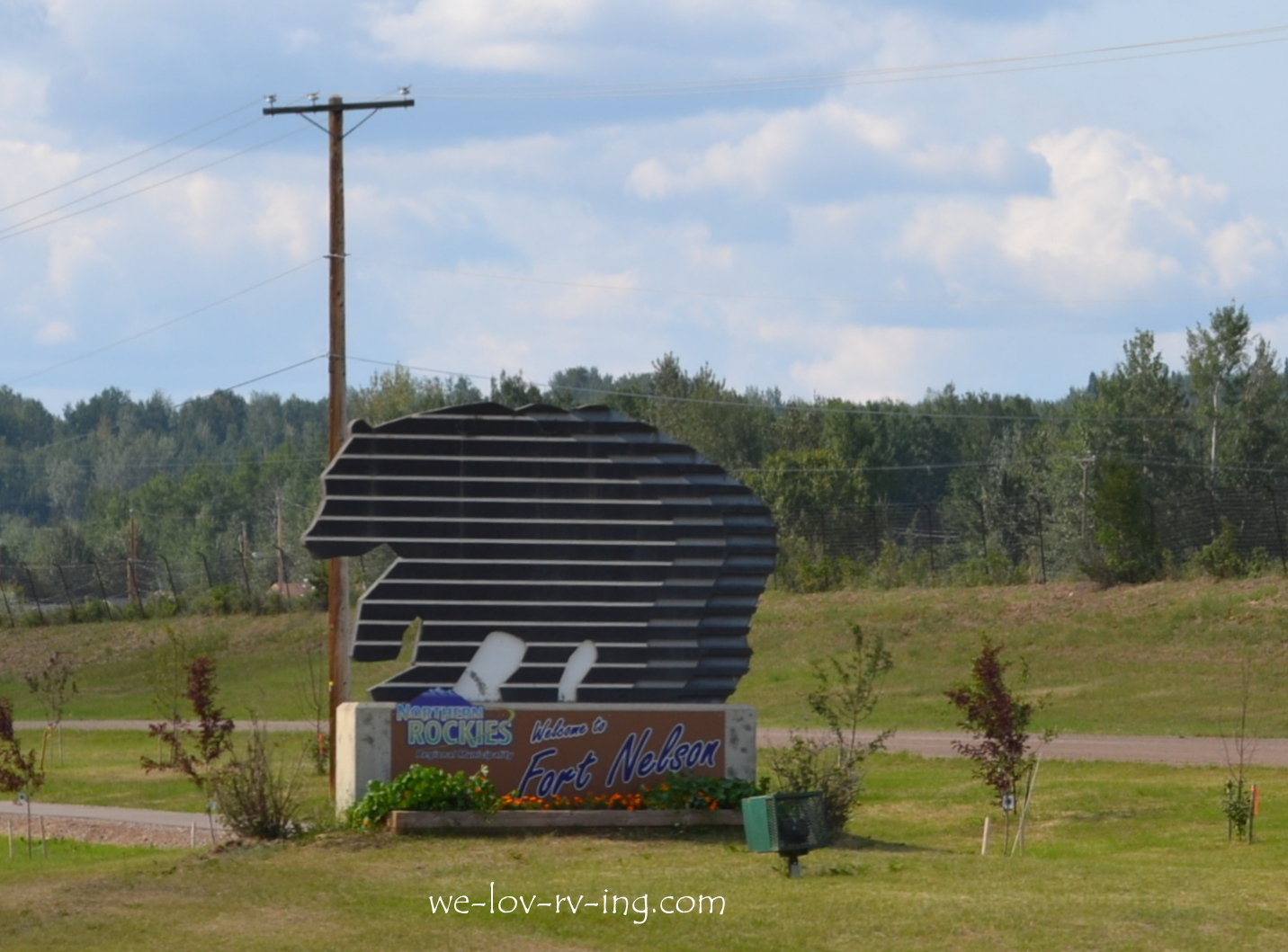 We Love Rv Ing Dawson Creek Fort Nelson Alaska Highway