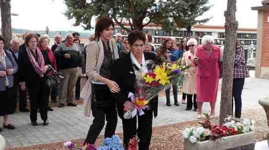 Homenaje en Mendavia