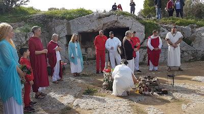 Greci in preghiera