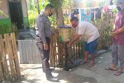 Menuju Kampung Sehat, Desa Tapir Ganti Tempat Cuci Tangan Warga Dengan Yang Baru