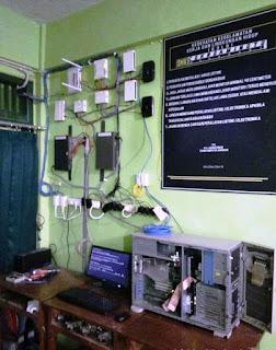 Instalasi Jaringan Laborat 2 (NOC) SMKS Cokroaminoto Wanadadi