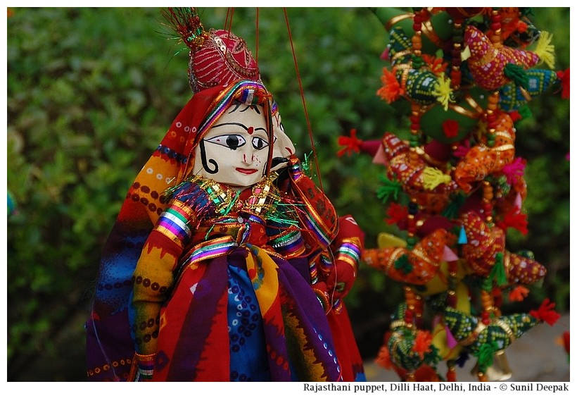 Puppet from Rajasthan, India - Images by Sunil Deepak